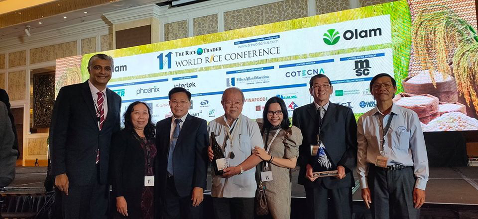Vietnamese premium fragrant rice ST25 was named the best rice variety in the world